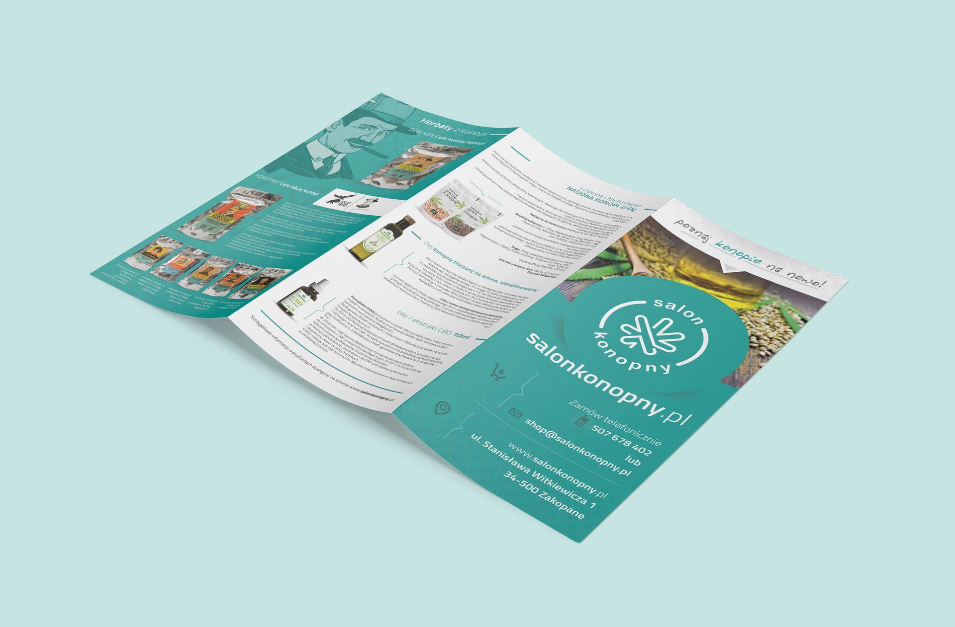 salonkonopny.pl 3 fold flyer mockup 011