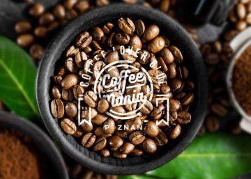 Caffee Maniabranding, druk, logo, opakowania