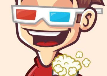 Cinema 9Dmascot logo, maskotka firmowa