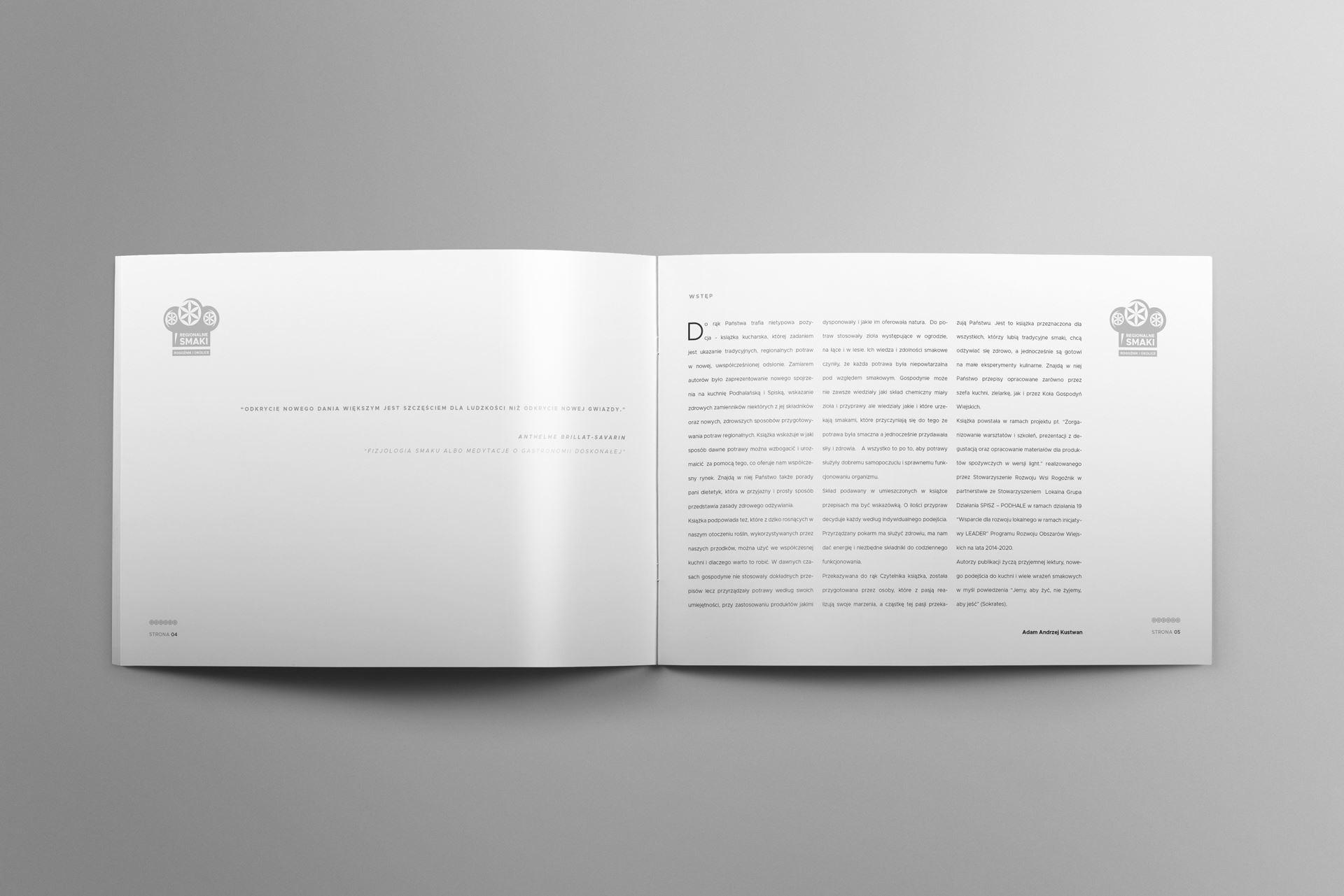 Regionalne smaki 03 landscape brochure mockup