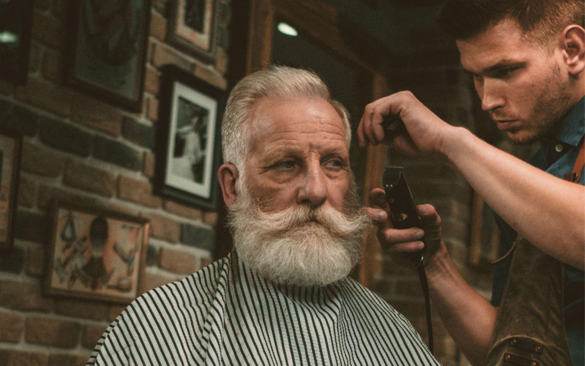 Brzytwa - barber shop sygnet przed 1