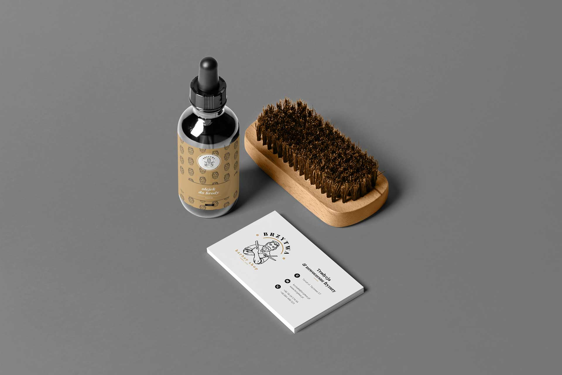Identyfikacja wizualna w Cobance Studio - case study Brzytwa BarberShop identyfikacja wizualna barber 6