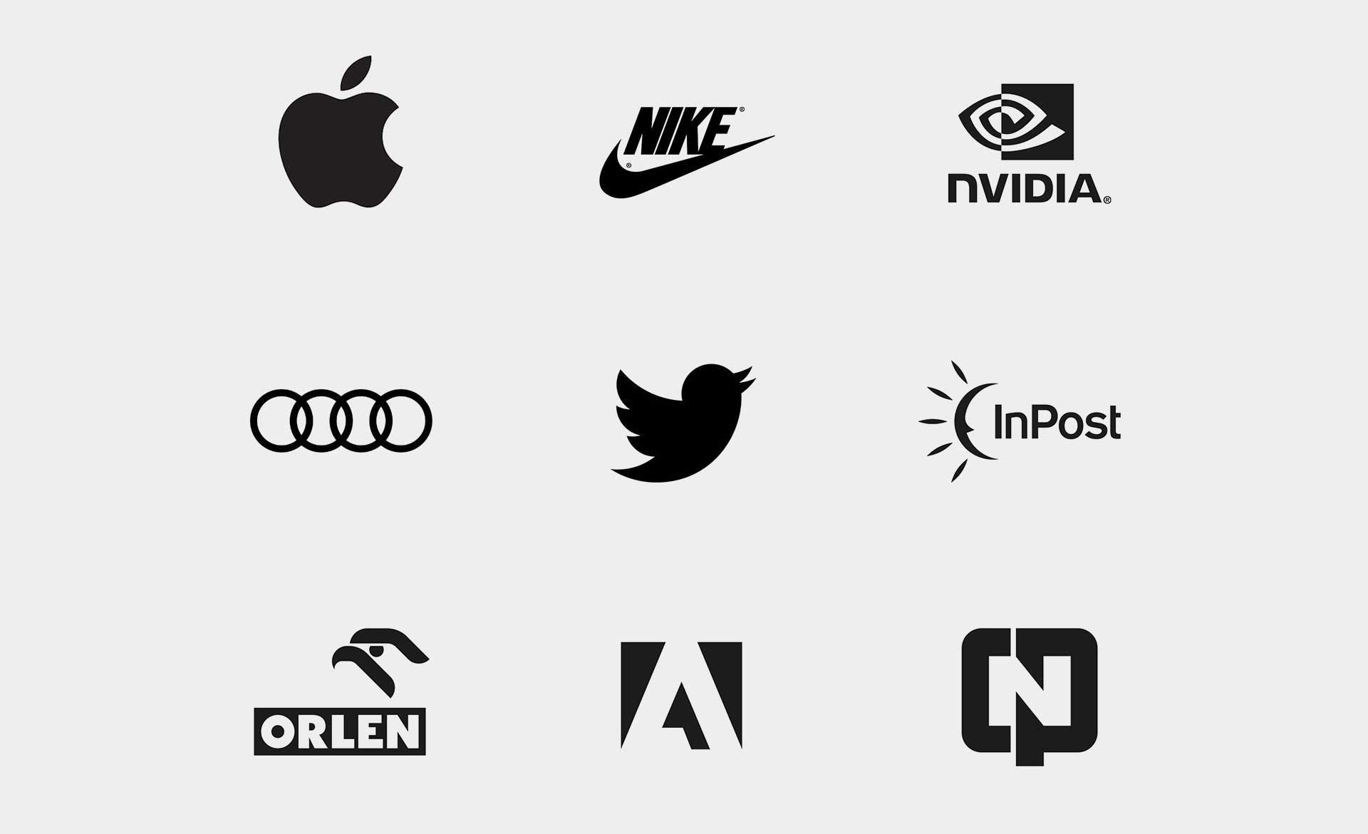 Projektowanie logo firmy - żelazne zasady dobrego logo. minimalizm w logo 2