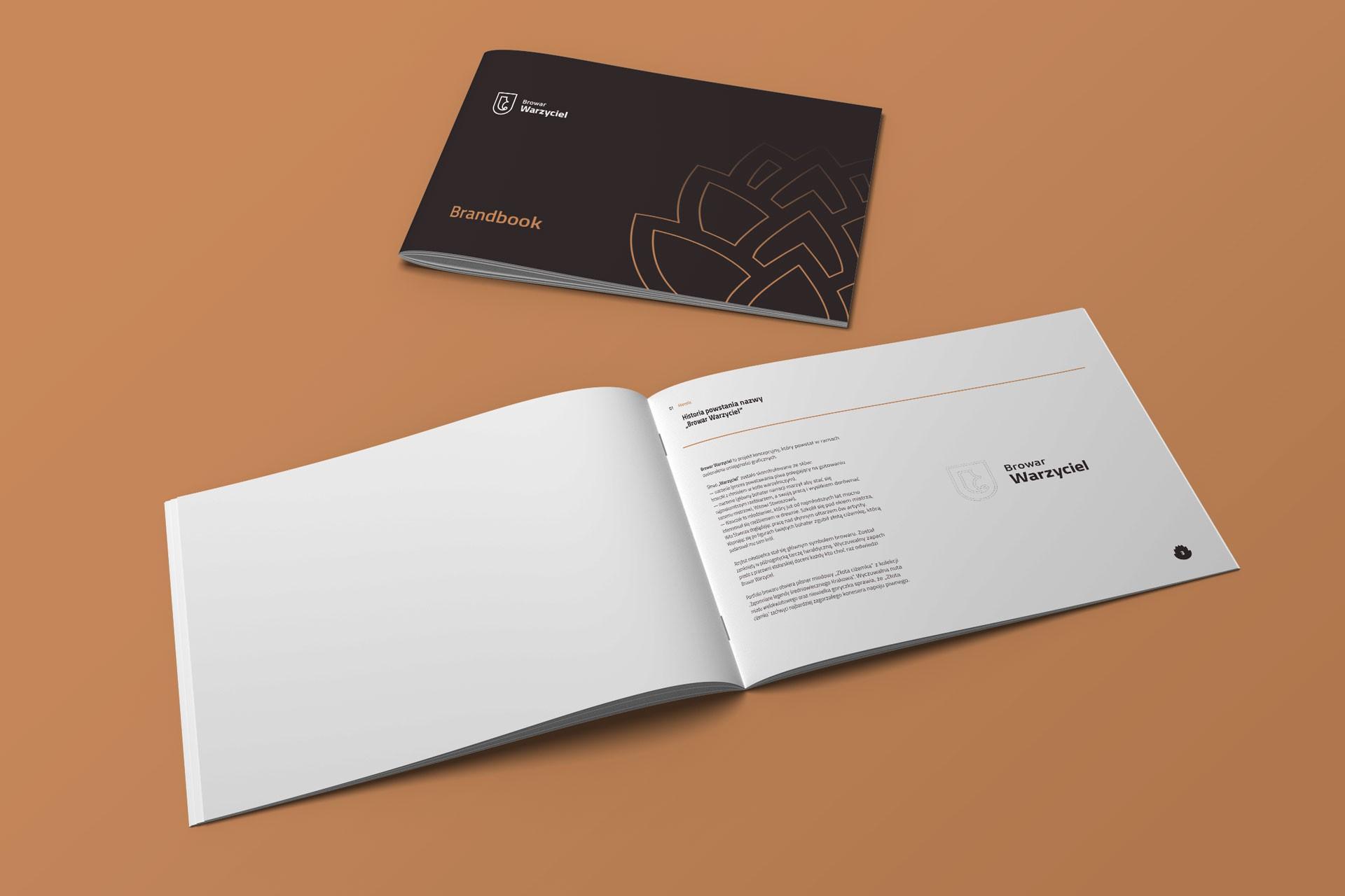 Proces projektowania logo brandbook warzyciel browar 2