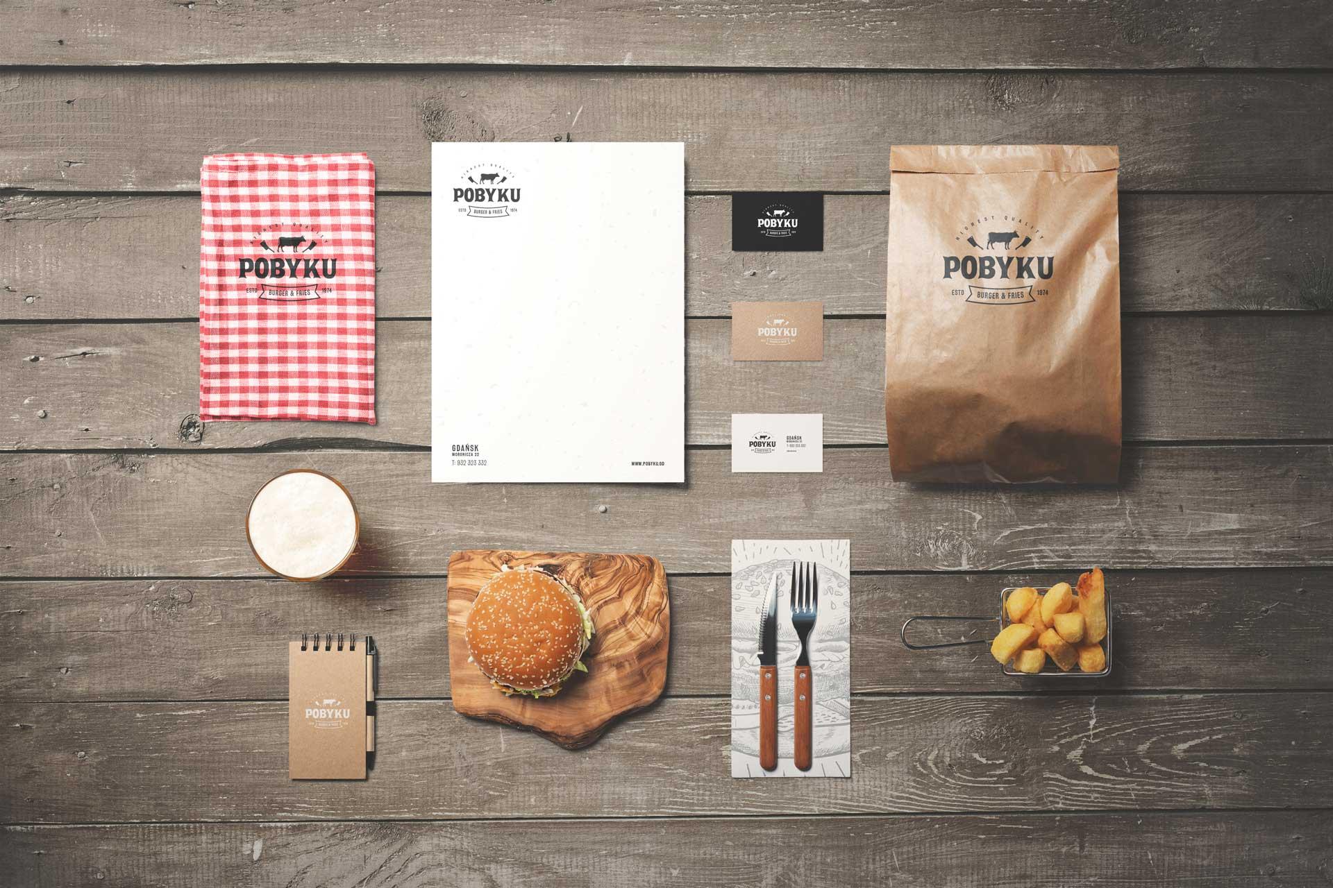 Jak stworzyć atrakcyjną wizytówkę? wizytowka burger food